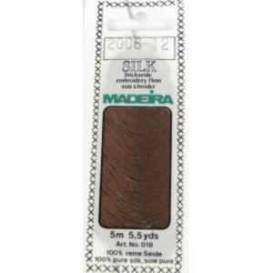 2006 Мулине Silk Madeira 5 m 4-х слойные 100% шелк
