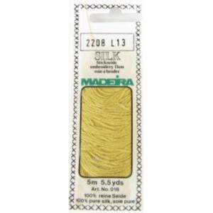 2208 Мулине Silk Madeira 5 m 4-х слойные 100% шелк