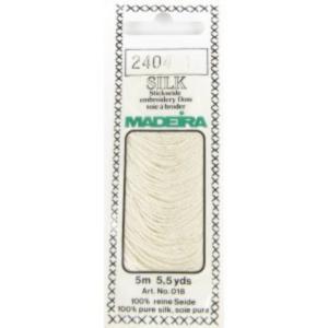 2404 ECRU Мулине Silk Madeira 5 m 4-х слойные 100% шелк