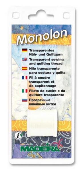 9663 Прозрачная швейная нить Monolon Madeira 500м
