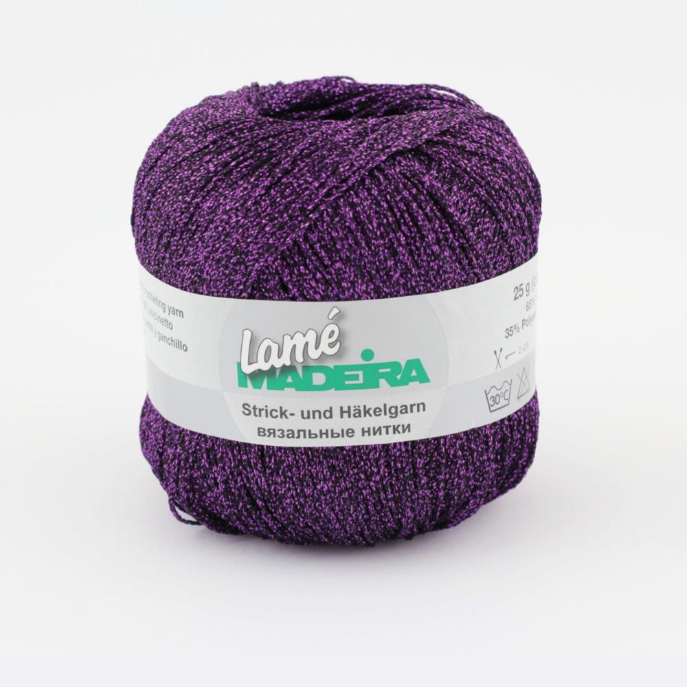 412/9814 LAME нить для вязания 175 м
