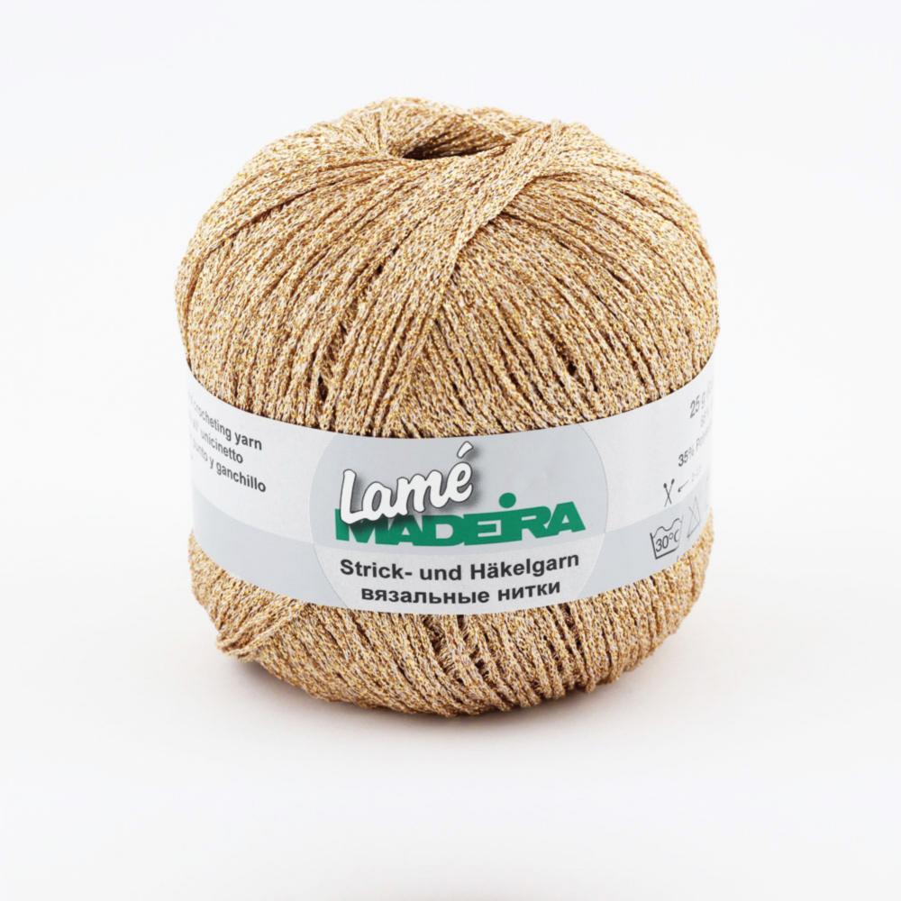 421/9814 LAME нить для вязания 175 м