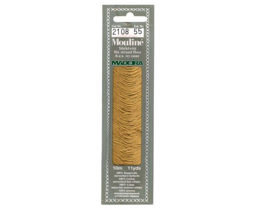 2108 Мулине Madeira 10 м