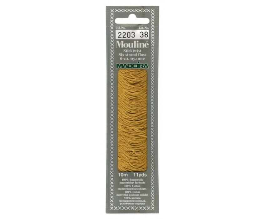 2203 Мулине Madeira 10 м