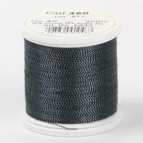 460/9842 (200м)Metallic №40 вискоза/металлизированный полиэфир для вышивания