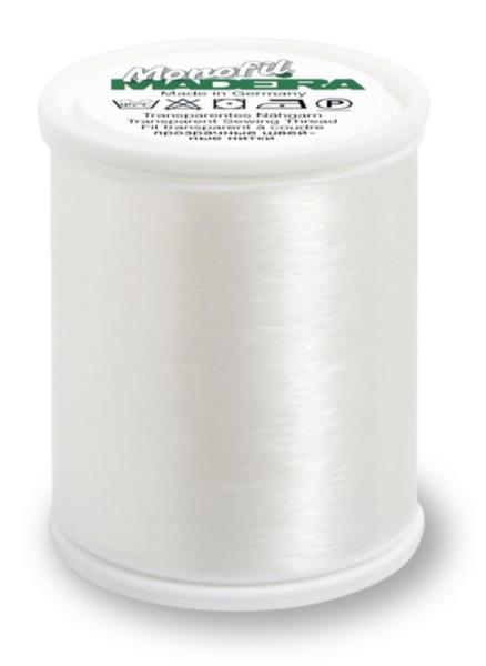 9763/1001 MONOFIL полиамид №40 прозрачные белые 1000 м