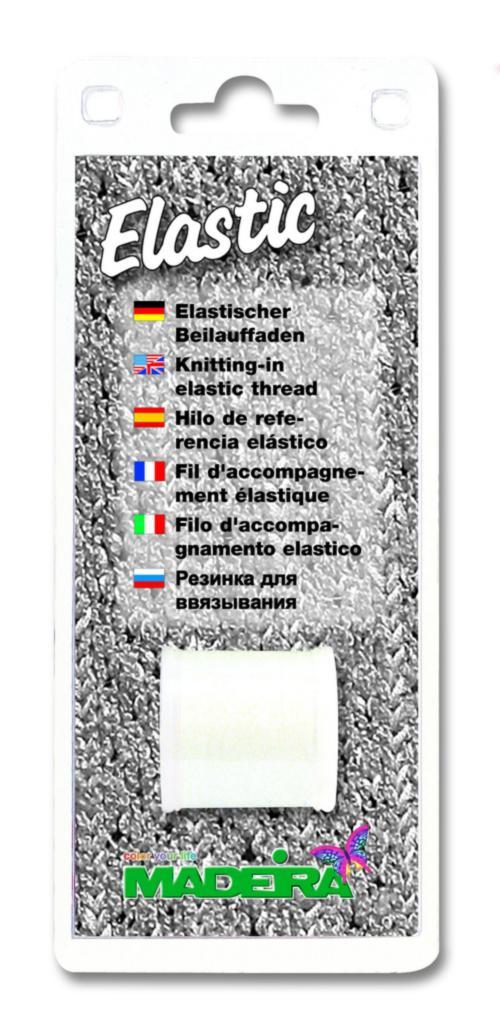 9800B Резинка для ввязывания (прозрачная) Elastic Blister Madeira