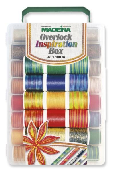8048 Overlock набор для оверлока (20xDecora 100м, 20xCotona 100м, 8xGlamour 100м)
