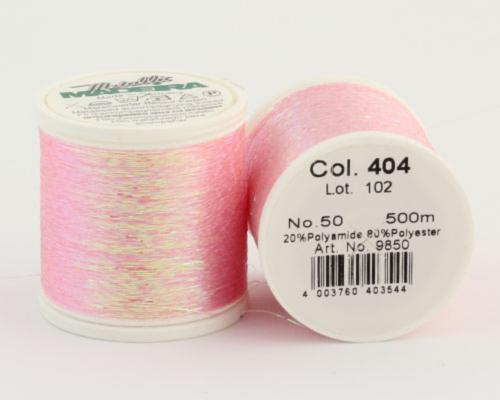 404/9850 METALLIC №50 Декоративная нитка для добавления в вязальную нить, 500 м