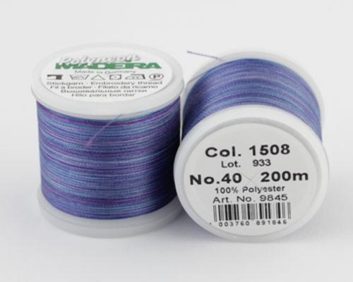 1508/9845 Polyneon №40 высокопрочная вышивальная нить, 100% полиэстер, 400 м
