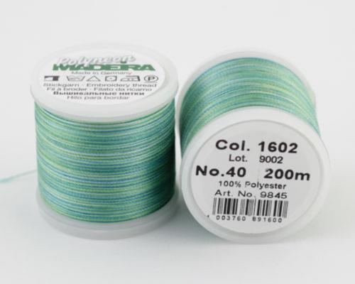 1602/9845 Polyneon №40 высокопрочная вышивальная нить, 100% полиэстер, 400 м