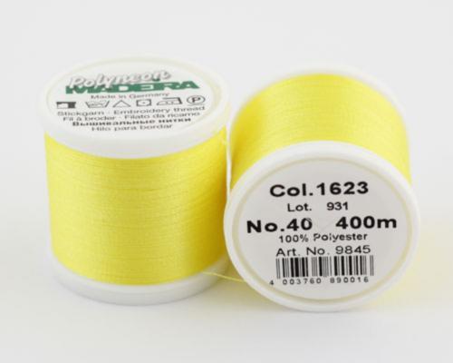 1623/9845 Polyneon №40 высокопрочная вышивальная нить, 100% полиэстер, 400 м