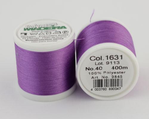 1631/9845 Polyneon №40 высокопрочная вышивальная нить, 100% полиэстер, 400 м