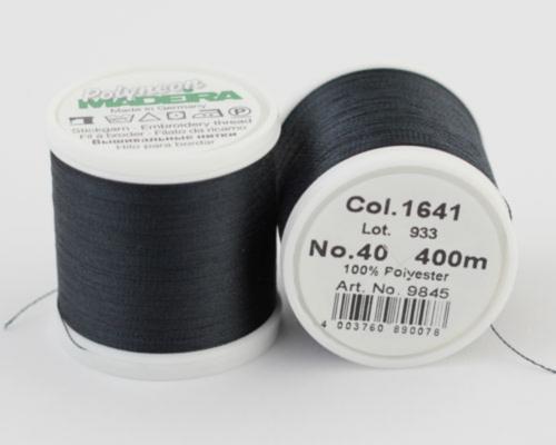 1641/9845 Polyneon №40 высокопрочная вышивальная нить, 100% полиэстер, 400 м