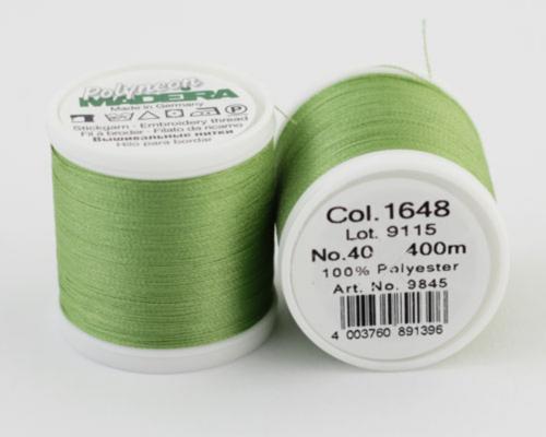 1648/9845 Polyneon №40 высокопрочная вышивальная нить, 100% полиэстер, 400 м