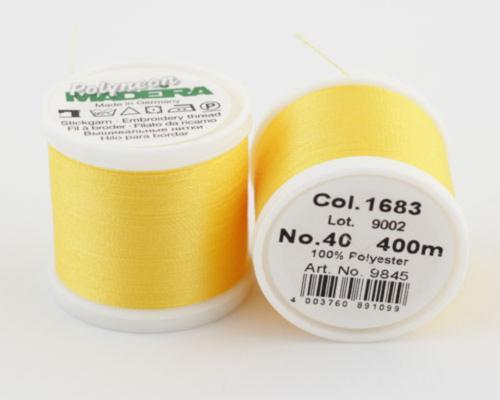 1683/9845 Polyneon №40 высокопрочная вышивальная нить, 100% полиэстер, 400 м