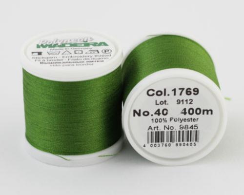 1769/9845 Polyneon №40 высокопрочная вышивальная нить, 100% полиэстер, 400 м