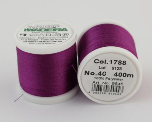 1788/9845 Polyneon №40 высокопрочная вышивальная нить, 100% полиэстер, 400 м