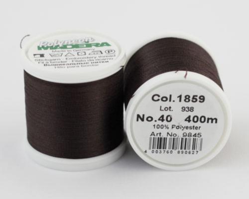 1859/9845 Polyneon №40 высокопрочная вышивальная нить, 100% полиэстер, 400 м