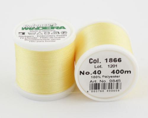 1866/9845 Polyneon №40 высокопрочная вышивальная нить, 100% полиэстер, 400 м
