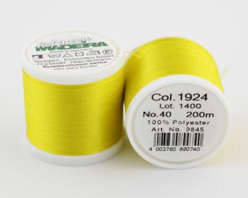 1924/9845 Polyneon №40 высокопрочная вышивальная нить, 100% полиэстер, 400 м