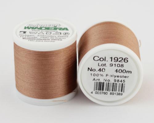 1926/9845 Polyneon №40 высокопрочная вышивальная нить, 100% полиэстер, 400 м