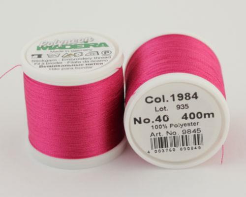1984/9845 Polyneon №40 высокопрочная вышивальная нить, 100% полиэстер, 400 м