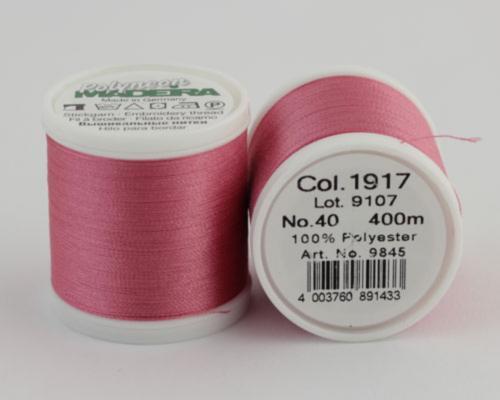 1917/9845 Polyneon №40 высокопрочная вышивальная нить, 100% полиэстер, 400 м