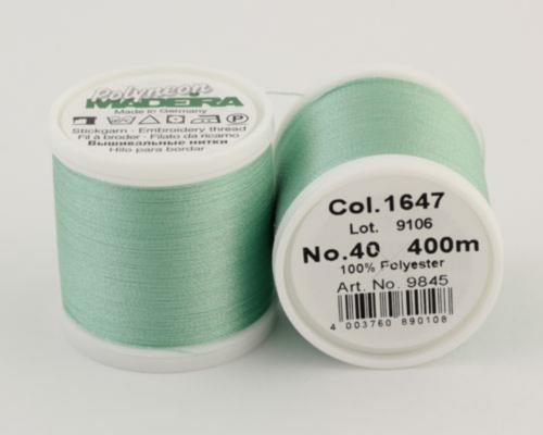 1647/9845 Polyneon №40 высокопрочная вышивальная нить, 100% полиэстер, 400 м