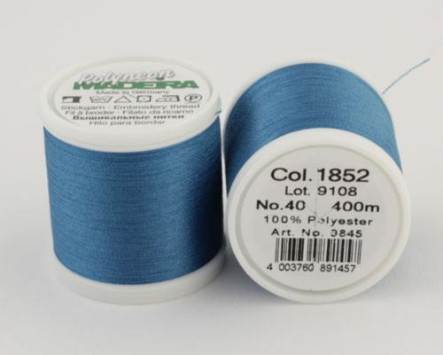 1852/9845 Polyneon №40 высокопрочная вышивальная нить, 100% полиэстер, 400 м