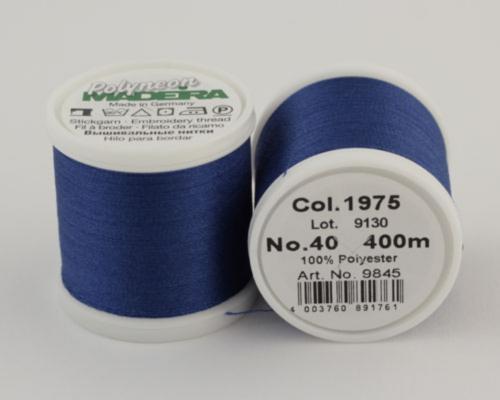 1975/9845 Polyneon №40 высокопрочная вышивальная нить, 100% полиэстер, 400 м