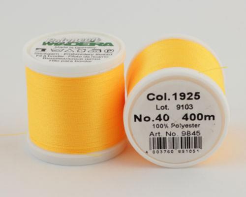 1925/9845 Polyneon №40 высокопрочная вышивальная нить, 100% полиэстер, 400 м
