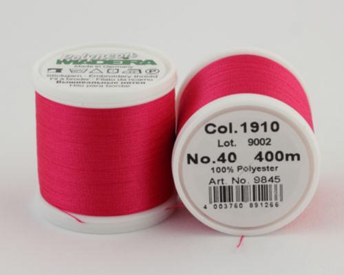 1910/9845 Polyneon №40 высокопрочная вышивальная нить, 100% полиэстер, 400 м