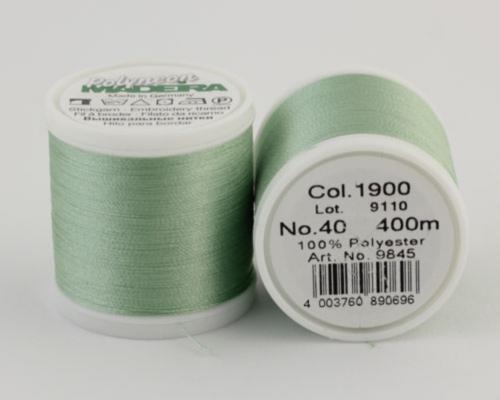 1900/9845 Polyneon №40 высокопрочная вышивальная нить, 100% полиэстер, 400 м
