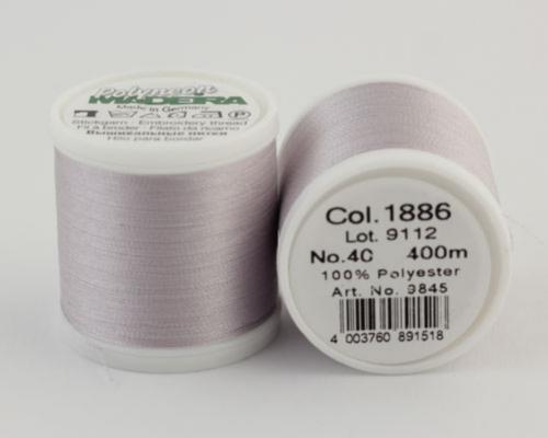 1886/9845 Polyneon №40 высокопрочная вышивальная нить, 100% полиэстер, 400 м