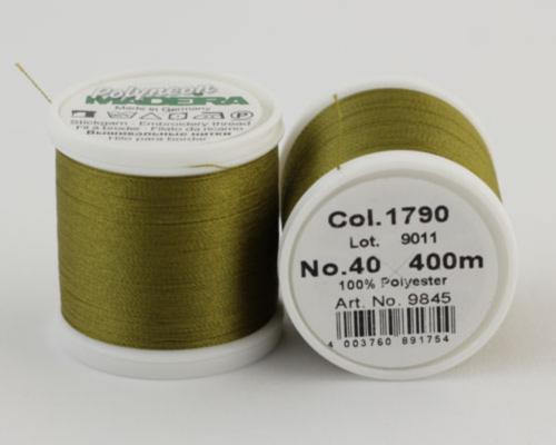 1790/9845 Polyneon №40 высокопрочная вышивальная нить, 100% полиэстер, 400 м
