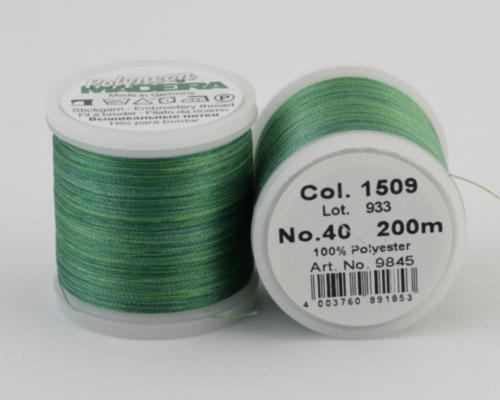 1509/9845 Polyneon №40 высокопрочная вышивальная нить, 100% полиэстер, 400 м
