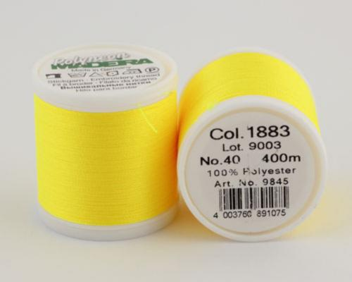 1883/9845 Polyneon №40 высокопрочная вышивальная нить, 100% полиэстер, 400 м