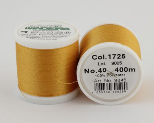 1725/9845 Polyneon №40 высокопрочная вышивальная нить, 100% полиэстер, 400 м