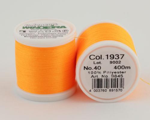 1937/9845 Polyneon №40 высокопрочная вышивальная нить, 100% полиэстер, 400 м