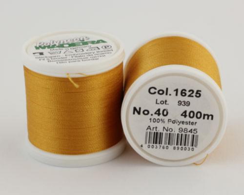 1625/9845 Polyneon №40 высокопрочная вышивальная нить, 100% полиэстер, 400 м