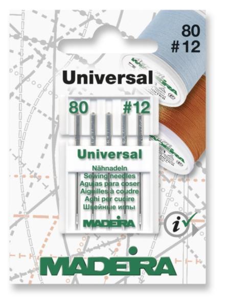 9455 Иглы для швейных работ 80/12 (5 игл) Madeira