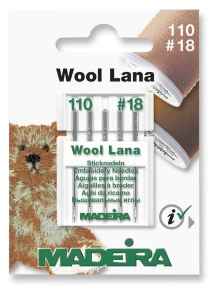 9452 Иглы для шерсти 110/18 (5 игл) Madeira